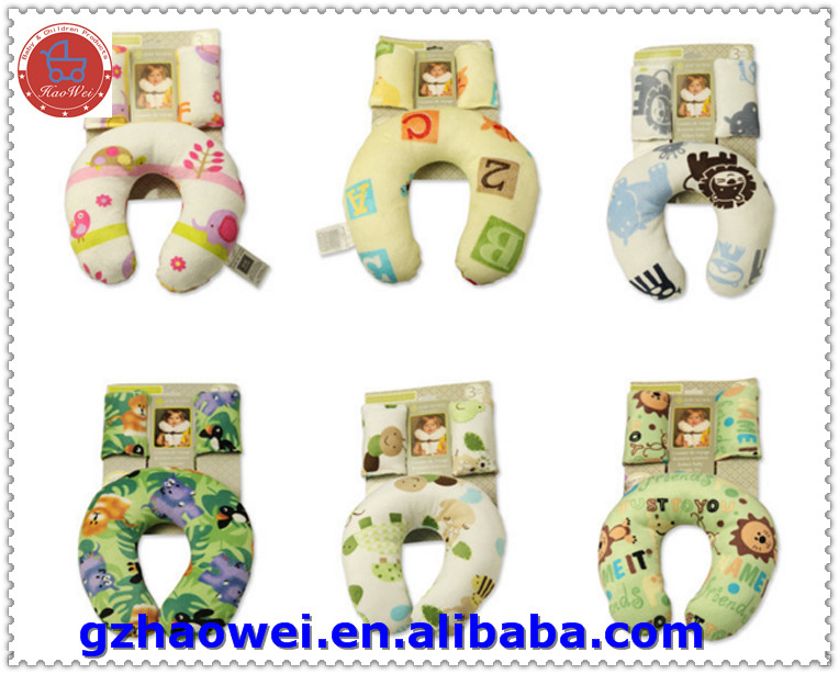 Infant neck protective pillow of car seat