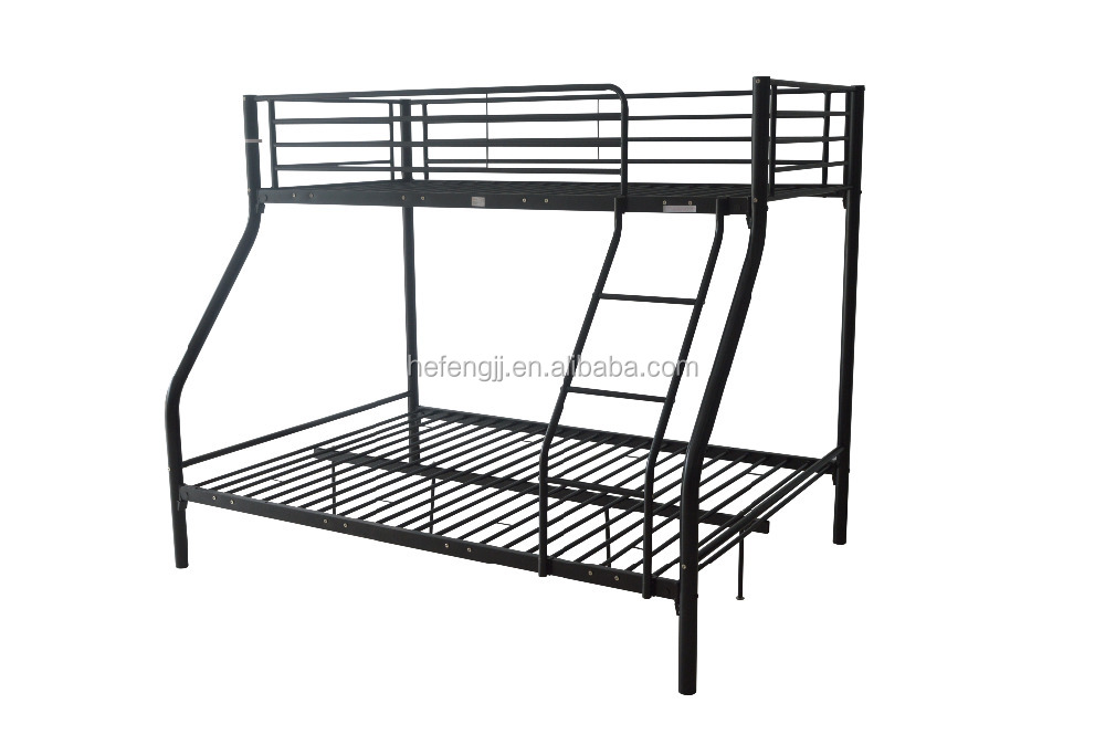 Bunk Bed Single Double Triple Children Metal Sleeper Frame No Mattress