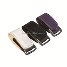 customized low price leather usb pendrive in high quality usb stick wedding gifts pendrive