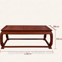 New design teak wood livingroom furniture sofa set made in China with exquisite carving
