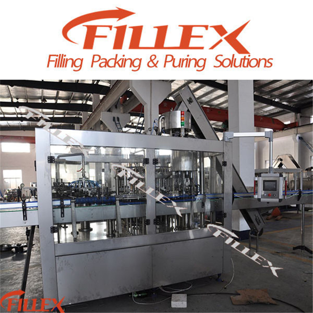Carbonated Drink Rinser Filler Capper (glass bottle) Equipment