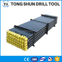 From China drilling machine parts water well drill rod