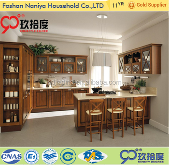 Hot selling wooden kitchen for cebu philippines furniture kitchen cabinet