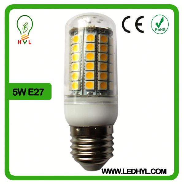 5w corn light360 Degree High brightness 12v led light 6w