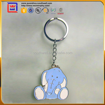 Cute Elephant Metal Rings For Souvenir