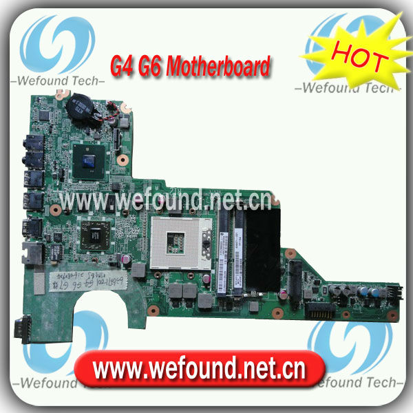 636371-001,Laptop Motherboard for HP G4 G6 Series Mainboard,System Board