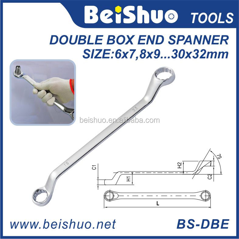 Double Offset Ring Spanner/Combination Spanner Hand Tools