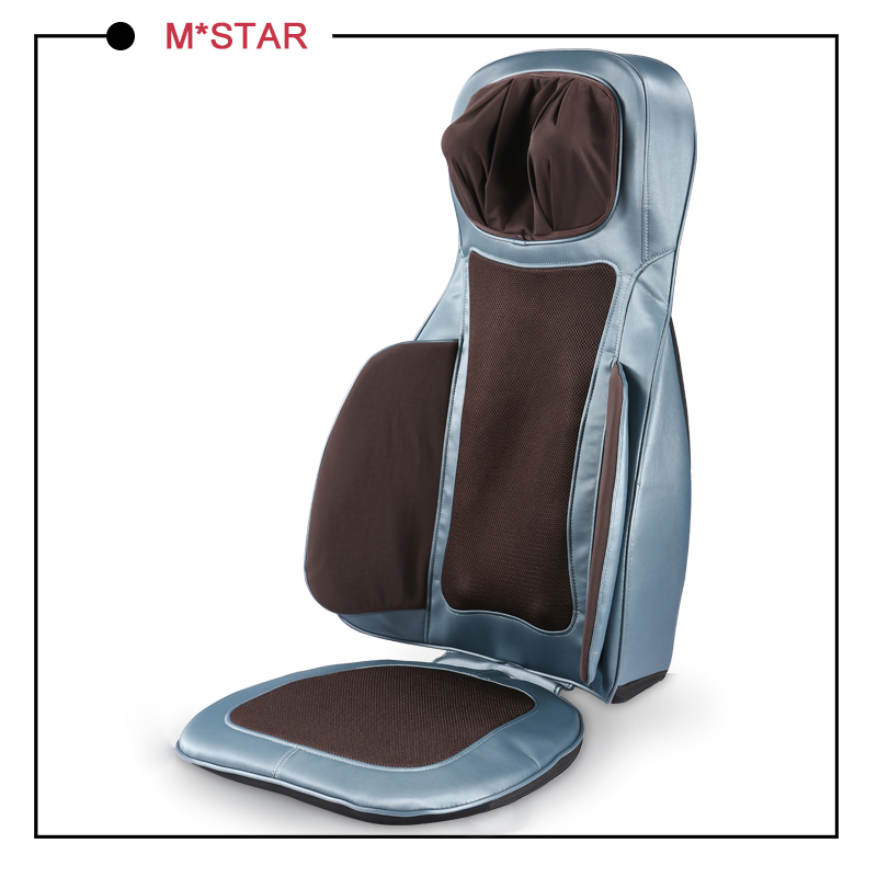 Comfortable Ultimate Speed Heated Massage Cushion