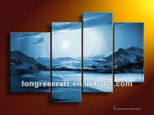Classical Mountain Scenery Painting Pictures GOP23