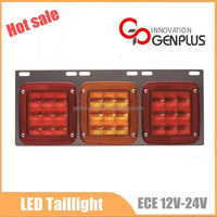 2015 New Bus Truck Rear light 12V LED taillight conversion