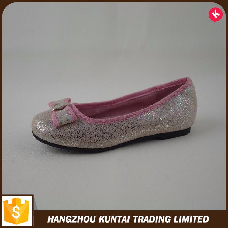 Professional manufacture new style flat girls shoes