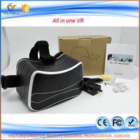 2016 Bulk Stock cheap virtual reality vr 3d box glasses, all ine one sex video vr box headset with wifi and bluetooth Function