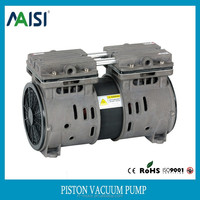 2 cylinder oilless micro mini piston vacuum pump