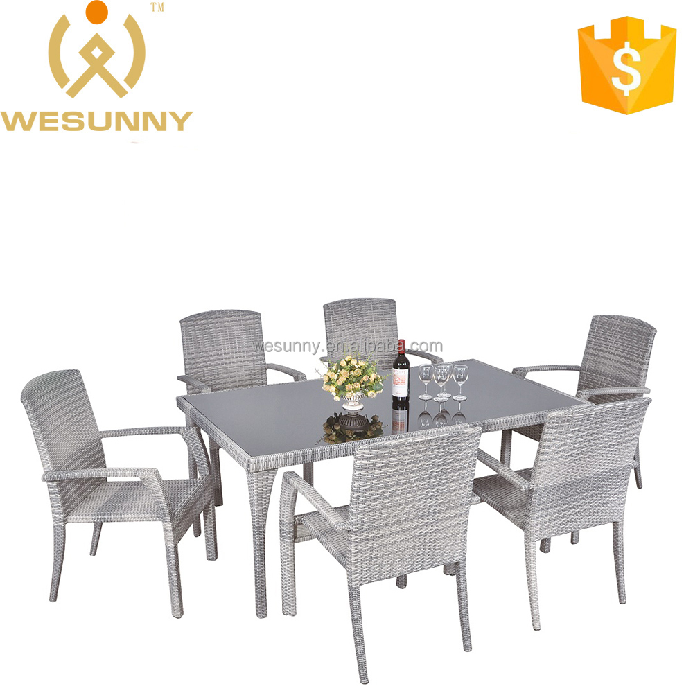 High Quality Dining Set Garden Table And Chair Furniture