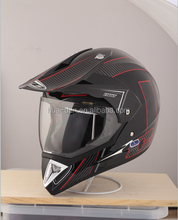 HD ECE cross helmet /motorcycle helmet with visor for men HD-803