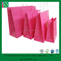 2015 Trade Assurance Supplier colorful custom paper gift bag