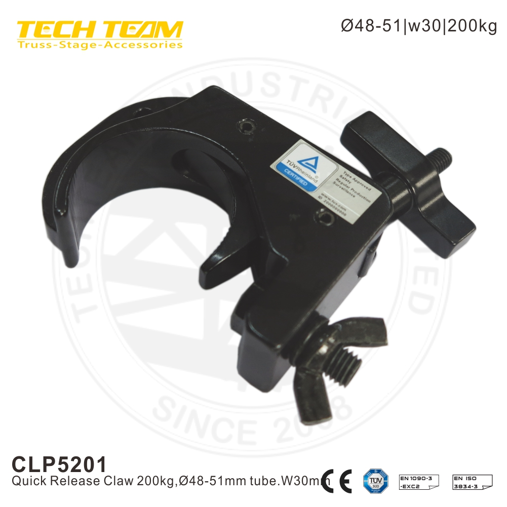 200kg loading 30mm wide truss clamps