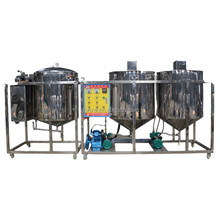 High performance cost ratio oil refinery machine/soya oil refinery plant