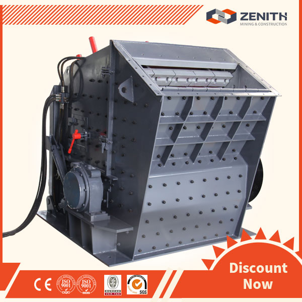 Environmental low investment impact crusher used in the opencast coal mining