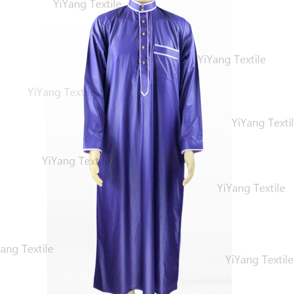 New style islamic clothing muslim men thobe Arabian Man robe jubah Abaya with best quanlity Latest Designs