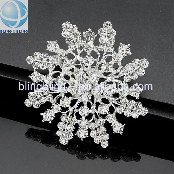 2016 New Stylish Crystal Rhinestone Brooch For Wedding,Garment ...