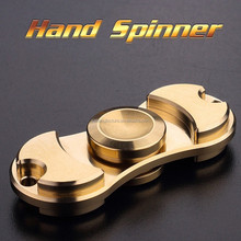 High Speed 2-3 Minute Spins fidget Hand Spinner, Quirrel Zinc Alloy EDC Spinners Focus Toy