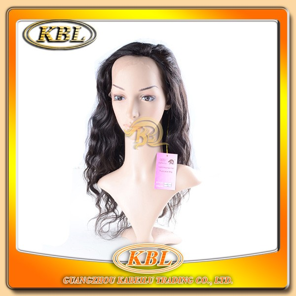 New stock full cuticle fashion brazilian ombre full lace wig,wig type