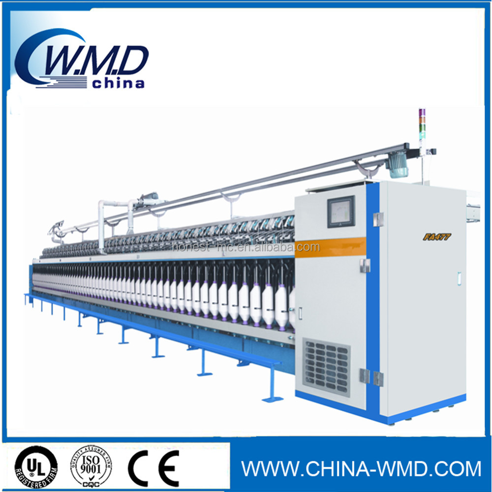 chinese manufatyrer cotton yarn spinning process spinning frame machines used in cotton mills