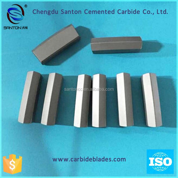 Santoncc K038B tungsten carbide tips for rock drill bits made in Chengdu