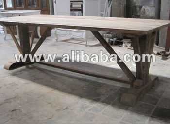 Dining Table 3cm Top - Reclaimed Teak Furniture