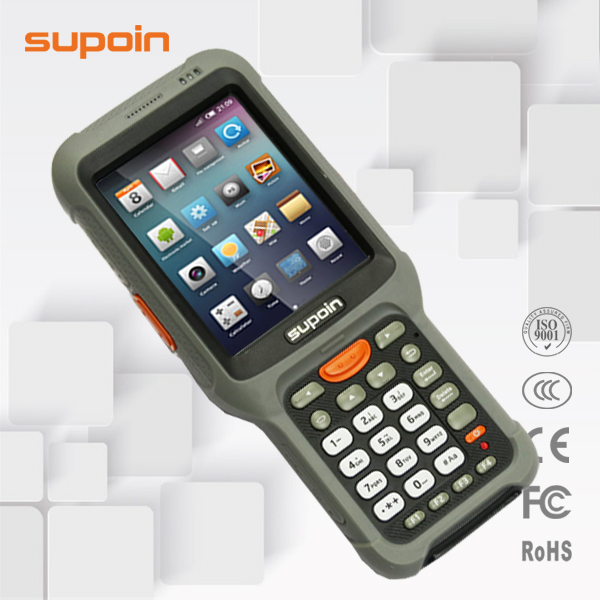 Supoin S52 Android 1D/2D Handheld barcode scanner smartphone terminals with 3G/WIFI/BT/IP65/Camera Long-distance