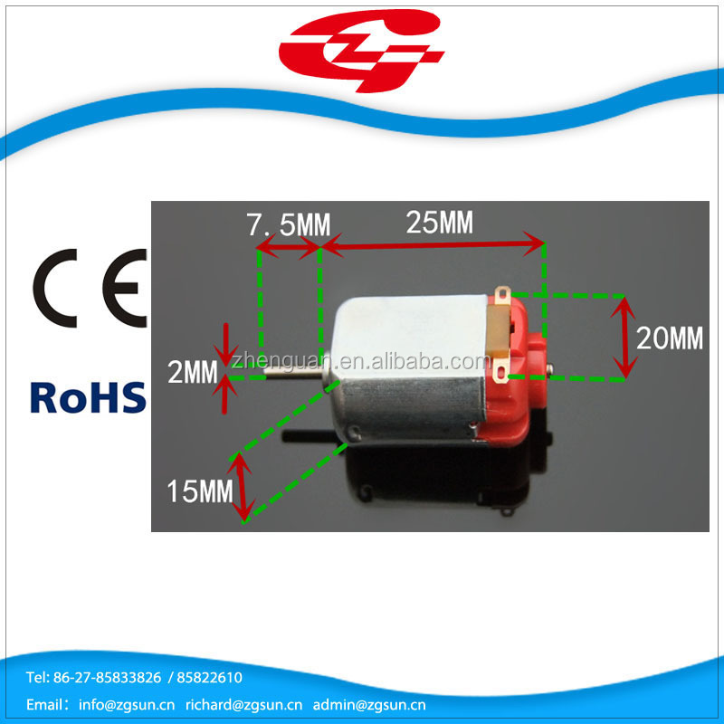 High efficiency high speed racing car toy dc motor 130