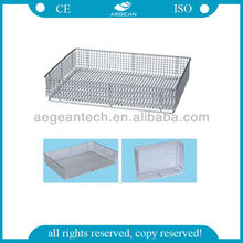 AG-SS073 size optional hot-sell convenient high strength high-quality classic CE approved Sterilizing Net Basket