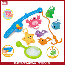 Fishing game toy toy fishing pole nets for kids