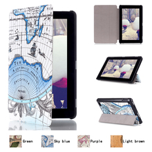 Latest Innovative Products Vintage PU Leather Tablet Sleeve for Amazon Kindle Fire 7inch 2015