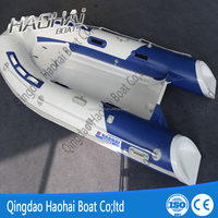 10.8ft RIB 330cm 5person 0.9mm pvc&hypalon luxury rib inflatable boat