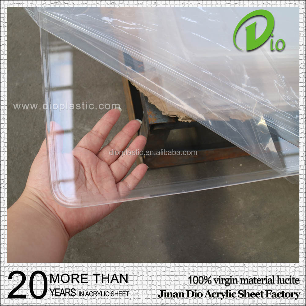 wholesale 100% virgin material 10mm high gloss cast polycarbonate sheet