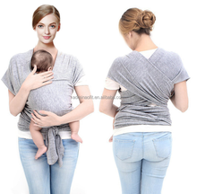 Cotton / spandex Baby ring sling 2017 Ergonomic carrier Baby sling