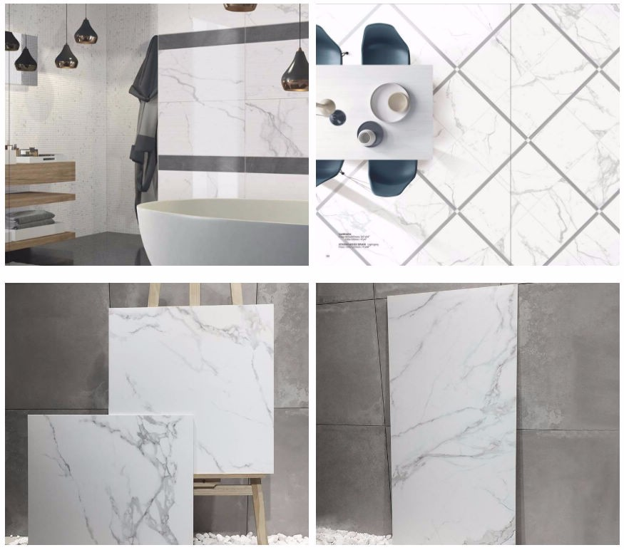 polished glazed porcelain tile indoor wall and floor 300x600 from China