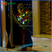 Simulation of plant wholesale Creative home high-grade simulation led flowers lights potted flower suit