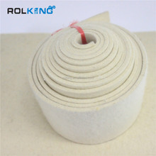 Manufacturer Supply Breathable 100% merino Wool Belt For Food Felt Conveyor Sand Belt