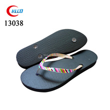 fashion summer anti-slip ladies plain EVA flip flips