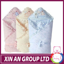 2015 comfortable cotton baby wrap soft cotton blanket