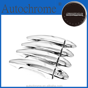 Newest 2015 hot products China wholesale car parts chrome door handle cover - For BMW 5 Series E60