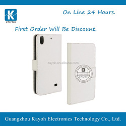 [kayoh] ultra slim magnetic pu leather case smart cover for huawei G620S
