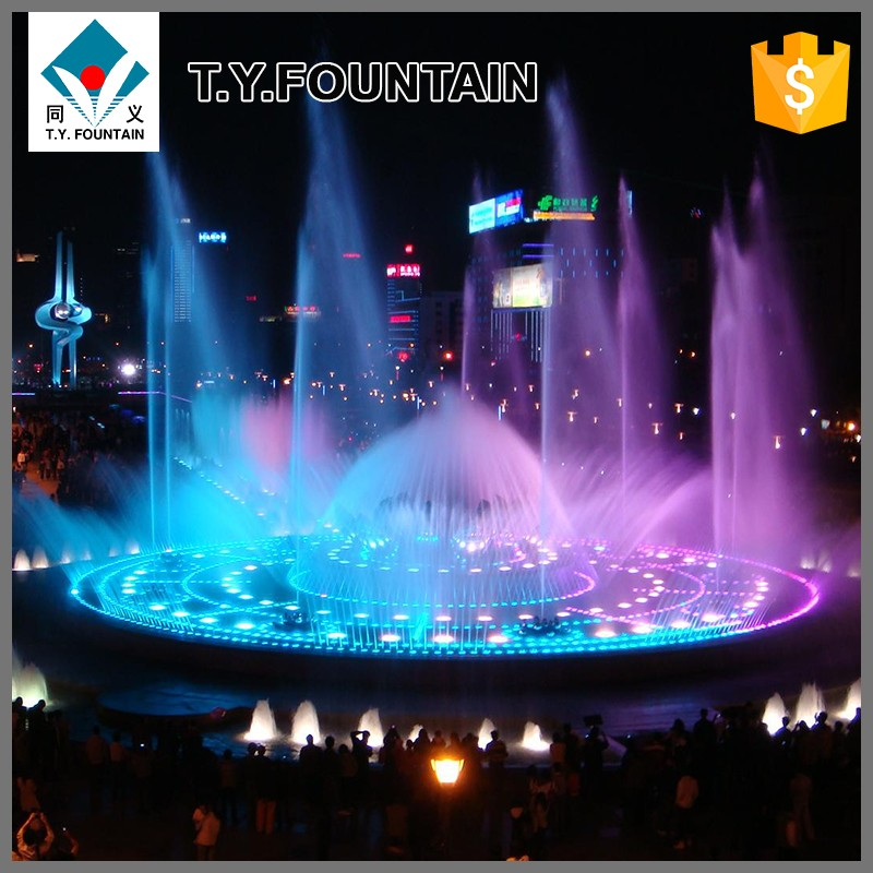 Music Dancing Pool Fountains Led Underwater Fountain Light