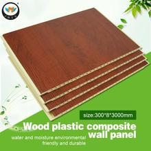Bamboo Fiber Integrated Ecological Wood Ceiling Panels Low Price Whole House Design PVC Clapboard Decorative Wall Board