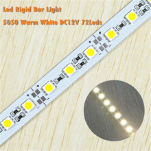 Hot Selling 5050 RigidLED Strip 12V Warm White LEDRigid Bar Light
