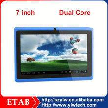 Cheapest 7 inch A23 Dual core android 4.0 tablet pc q88