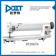 DT20676 Steady running and Low vibration Long arm type integrated feeding thick material sewing machine